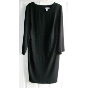 Jessica London Women's Black Sheath Dress Sz: 20W